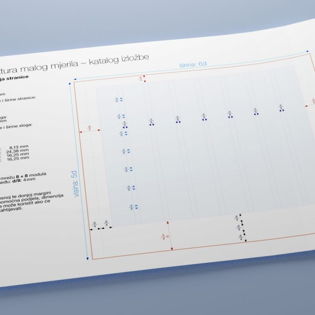 Picture of page layout construction